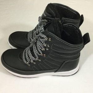 79a121f3c53441 Shoes - Weatherproof Ladies Sneaker Boots Black
